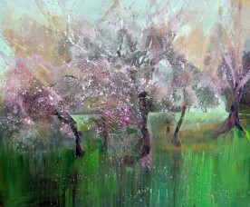 The Cherry Orchard 120x100cm