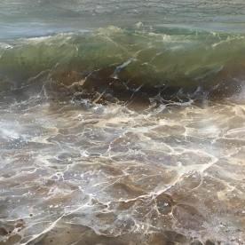 Wave I 120x100cm acrylic on canvas